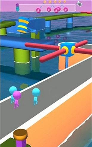 橡皮人跑酷3d版游戏