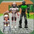 >机器人家庭模拟器