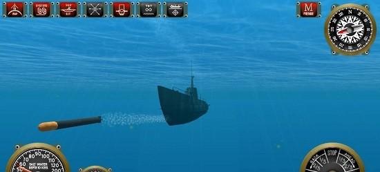 深水潜艇模拟器游戏