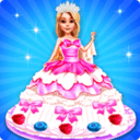 >芭比娃娃蛋糕