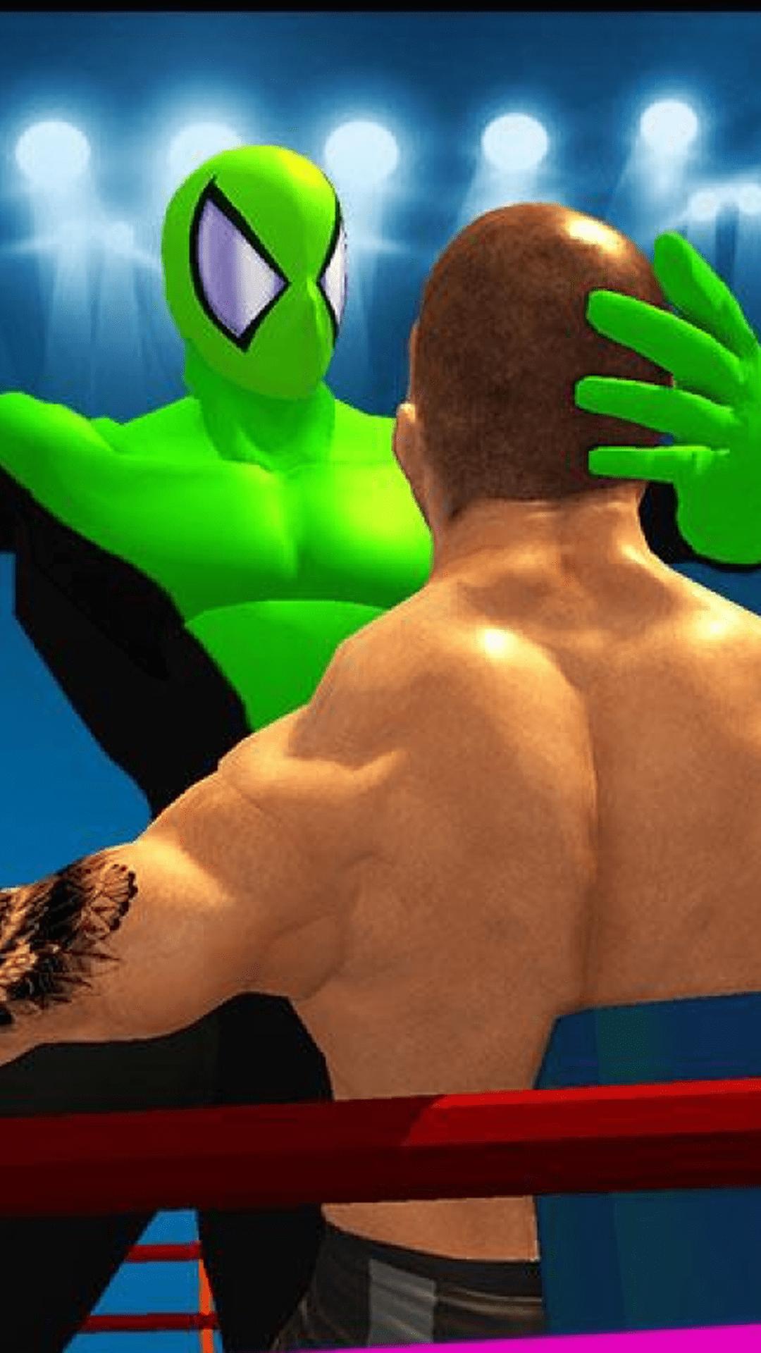 超级英雄格斗擂台游戏