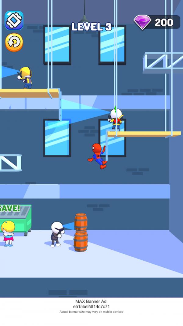 疯狂蜘蛛网
