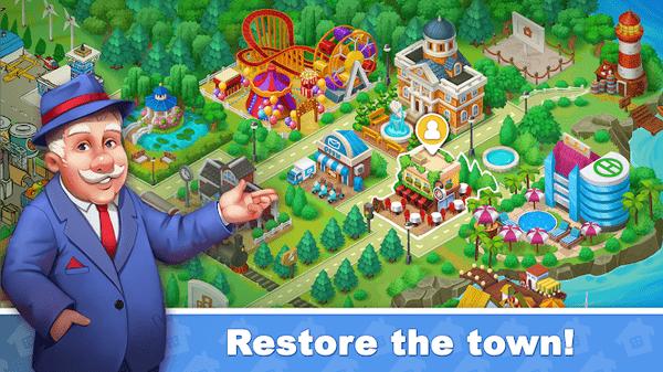 城镇爆炸恢复