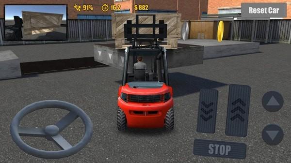叉车驾驶模拟器